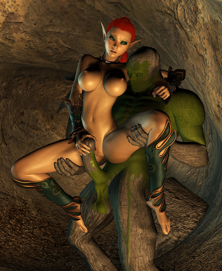 hot elf babes in 3d porn