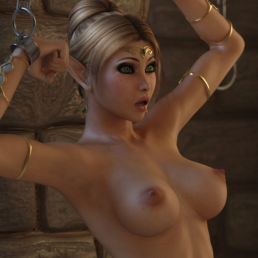 Hot blonde fucked by elves pron animation tits