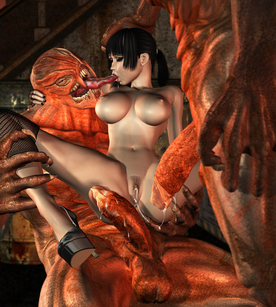 Wallpapers 3d monsters girls sexy nude download