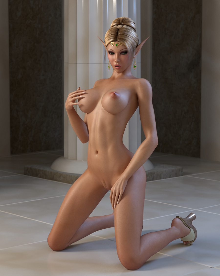 elves penetratedmonster - 3d sex