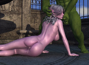 Sexiest of elfin babes waiting for you. Horny alien plant tentacles fuck sexy girls. Threesome with an elf.