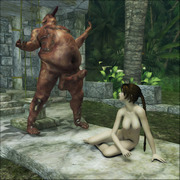Fantasy 3D forced sex
