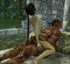 Lara Croft Sex world