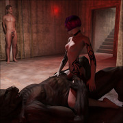 Horny monsters fuck sexy babes - 3D Porn