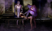 Naked zombie forced 3D porn
