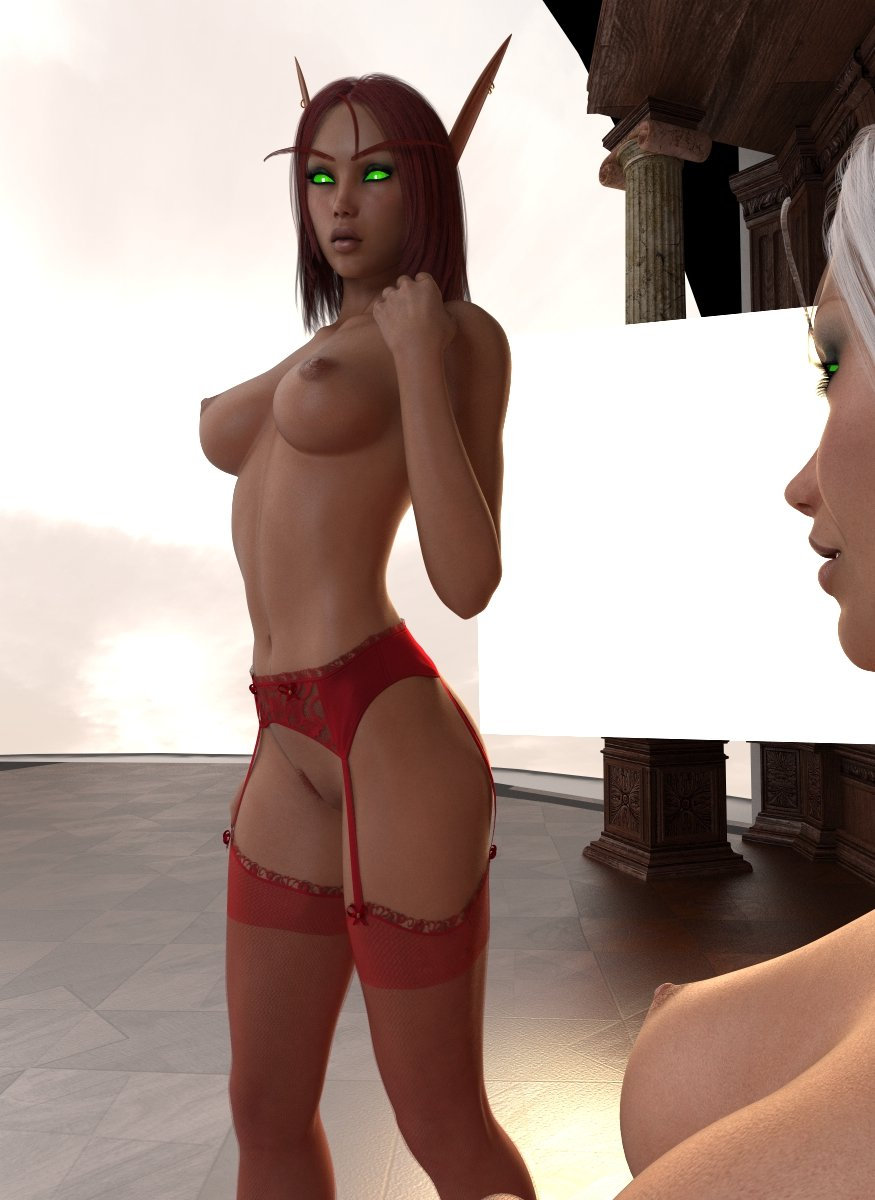 3d topless elf hentai photo