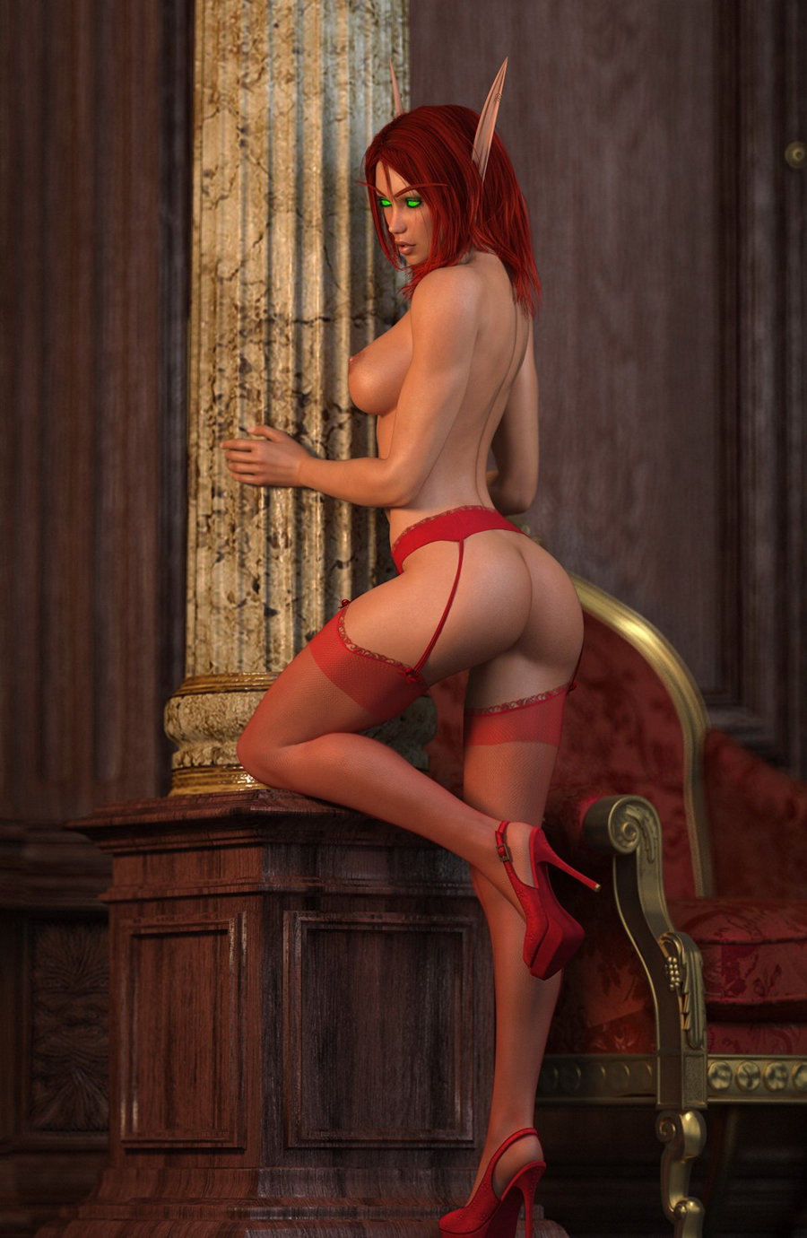 Redhead elf xxx photos sexy pictures