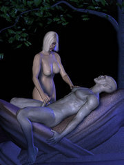 Fuck that beauty � cute 3d babes fucked by demonic creatures