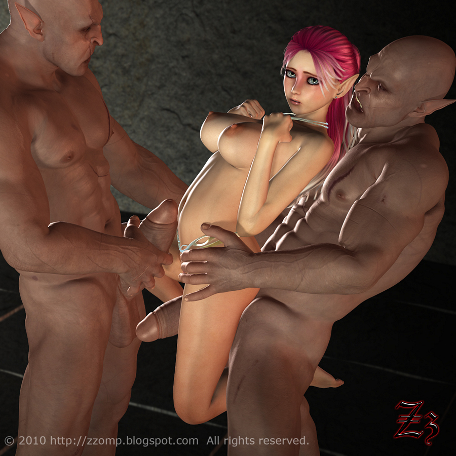 Animated hot fantasy elf double penetration sex exploited download