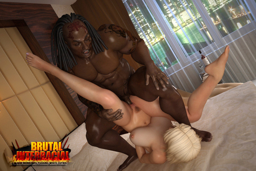Black ebony rough sex