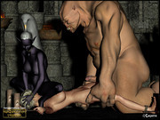 Dark of the she-elf � animated sex with troll