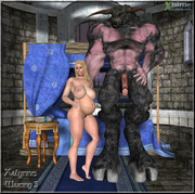 Bedroom secrets in the kinky 3d xxx world