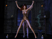 Lurking danger from the darkness - Busty babe raped