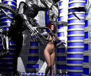 Raiders claiming their prize � hot 3d xxx babes fucked by monsters