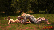 Alien thugs � xxx 3d fantasy babes forced by tentacle aliens