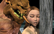 Fantasy affair - the girl and the monster - anime evil porn sex 3d pictures