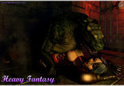 Xxx fantasy land's busty babes getting fucked by monsters - 3D gallery