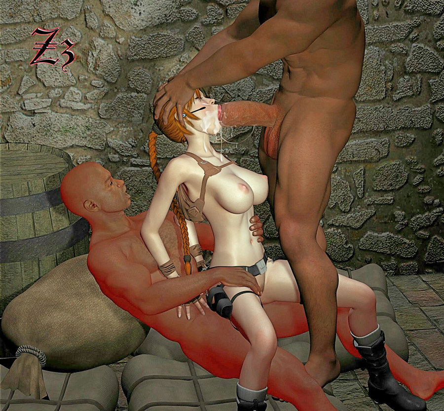 BDSM Library - Laura Croft and the Venus Thigh Trap