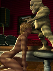 Evil sexual torture on3d monster sex - 3d hottie raped by midgets