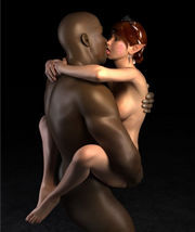Passionate interracial elf sex in sci- fi fantasy world