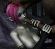 Young hot and kinky - 3d hot babes and huge monsters