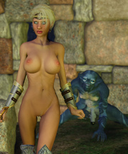 3D girls getting raped by ugly monsters - hardcore monster rape gallery