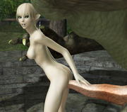 Any way you like it - 3d monster tentacle adult
