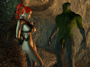 The new victims � hot fantasy 3d babes desecrated
