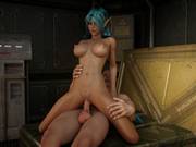 Playful aliens - anime alien sex games