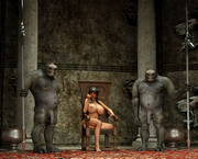 Comics 3d porn toons - monsters fuck sexy girls in every hole