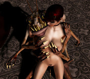 The hunter prey � hentai 3d babes fucked by demons