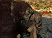 fantasy world porn with big boobed gal doing it doggy style