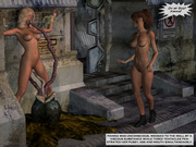 Handsome girls against monsters cocks - 3d porn pics collection