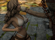 Free 3d porn with nasty troll doing sexy she-elf in all holes