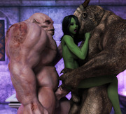 Undead plague �fantasy babes fucked by undead