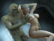 Fantasy babes getting fucked in 3D xxx world
