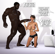 Playful babes in action - 3d hot xxx babes having fun