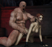 Sex starved cartoon tentacle monsters attacking their unsuspected naked female prey