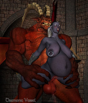 Monsters get love too on comix porn