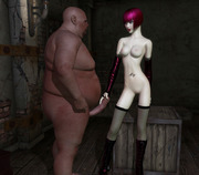 Busty 3D chicks getting fucked by the evil forces of underworld