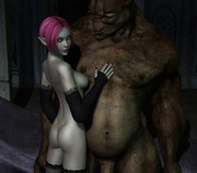 3D girls in trouble - Caught and getting banged by horny monsters