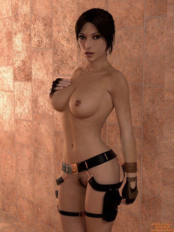 Cartoon Monster Lara Croft