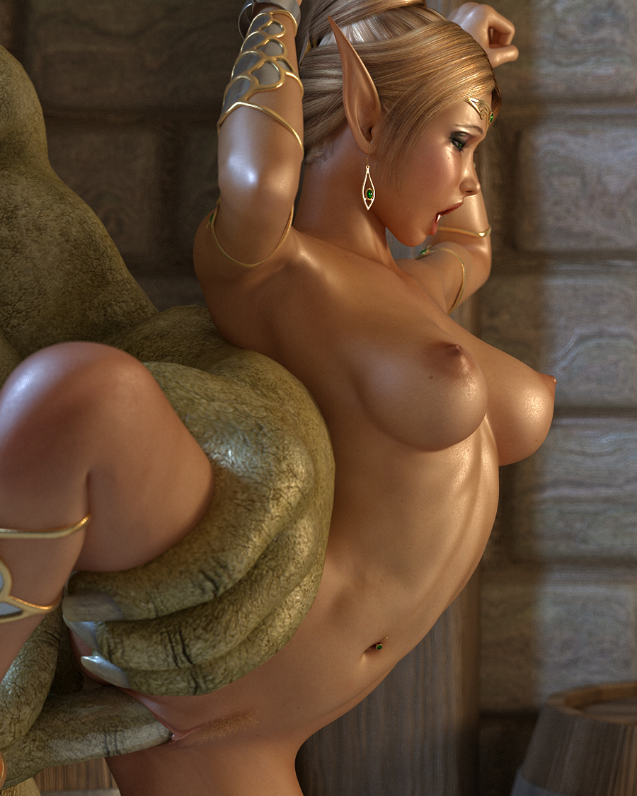 3d elf princess demon orc porn movies erotic scene