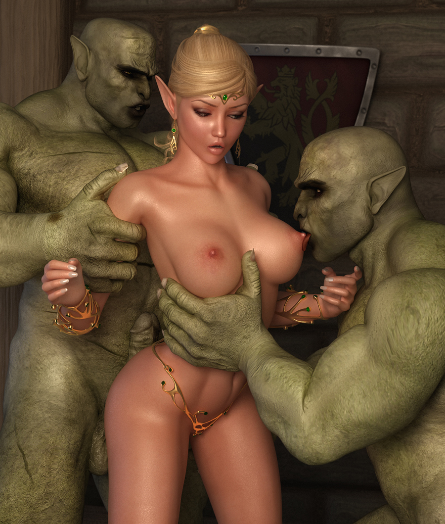 Fairy getting fucked by an alien xxx anime pic
