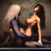 The other side of the pillow � 3d animated hot babes