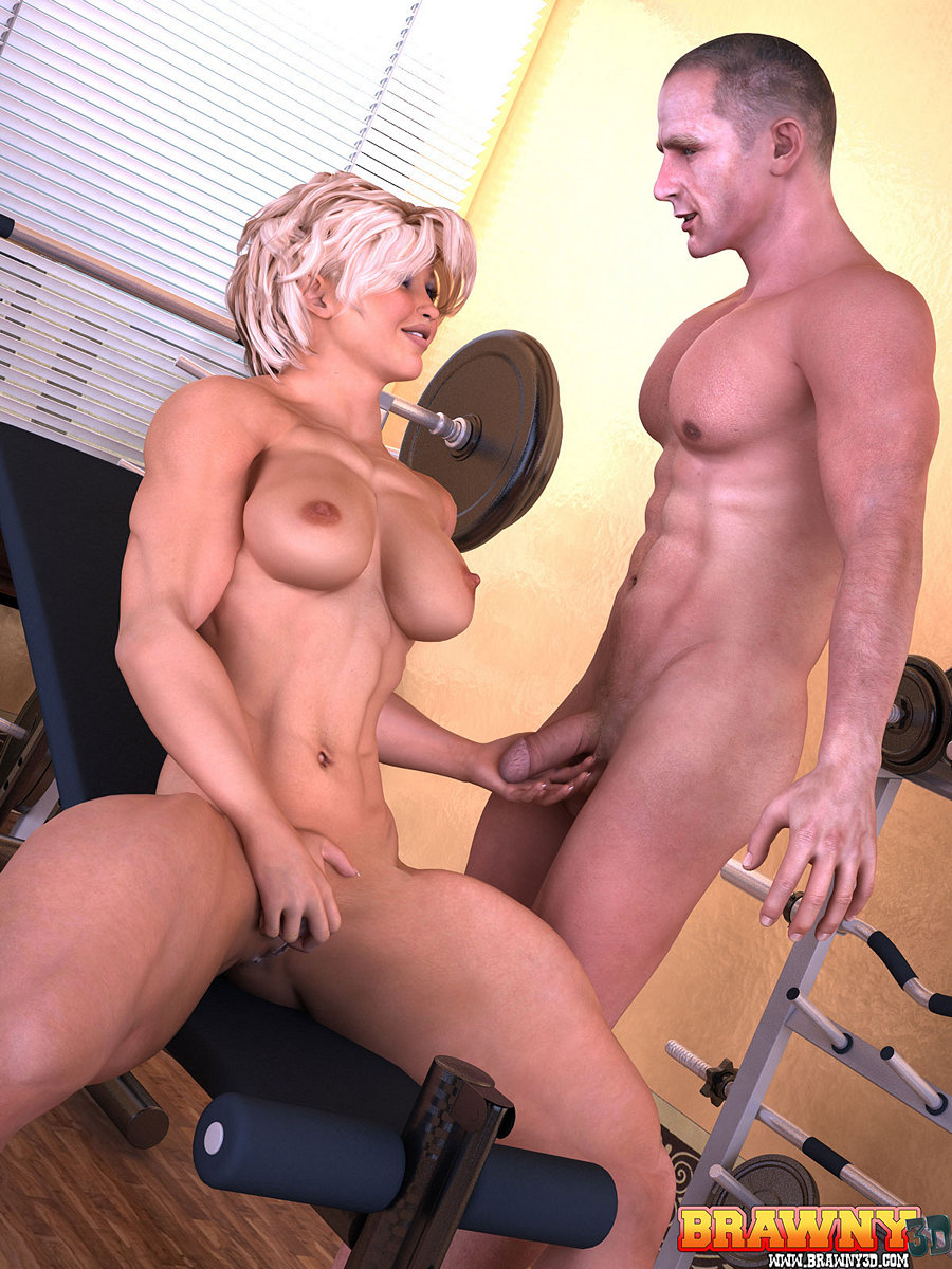 Muscle women fucked pics hentay clips
