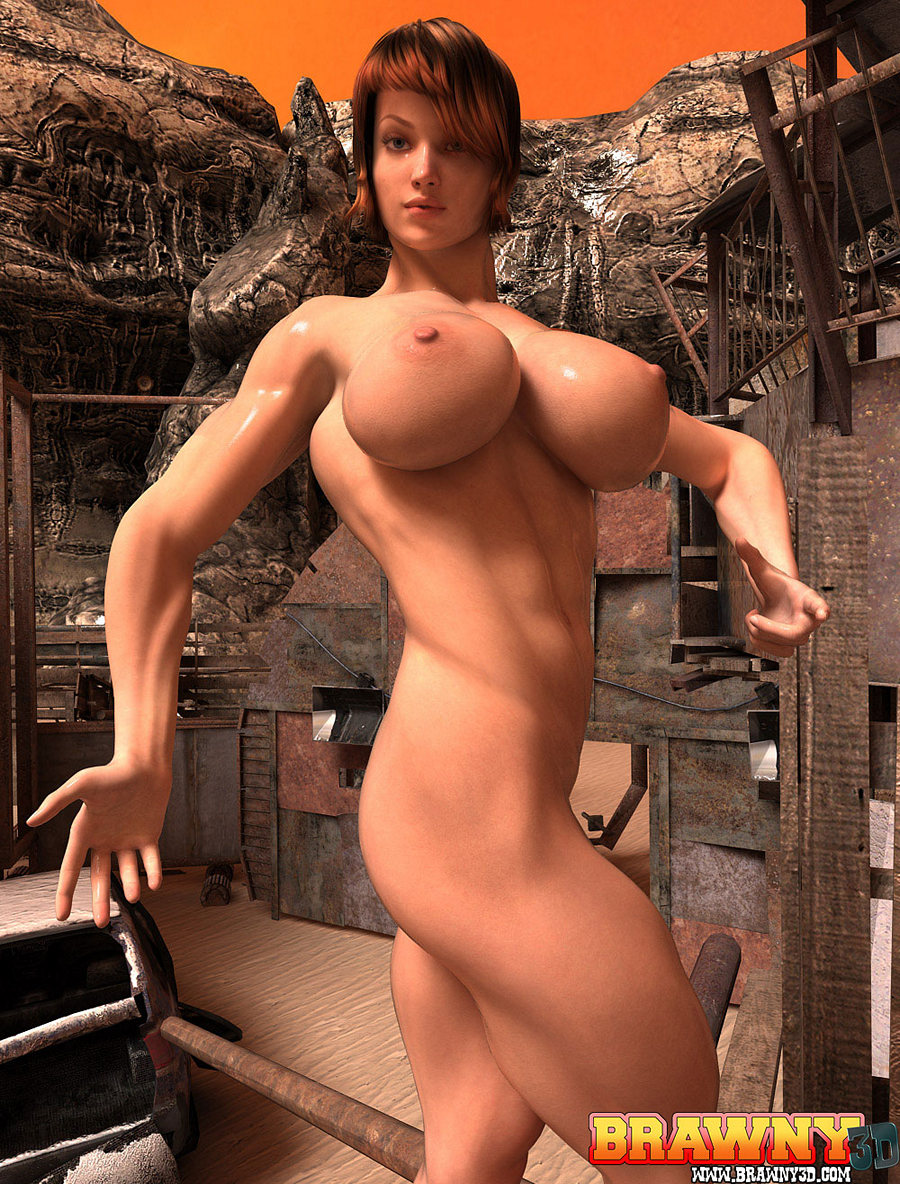 Busty 3d muscle galleries hentai image