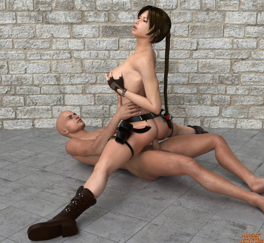 Lara Croft fucks Taj